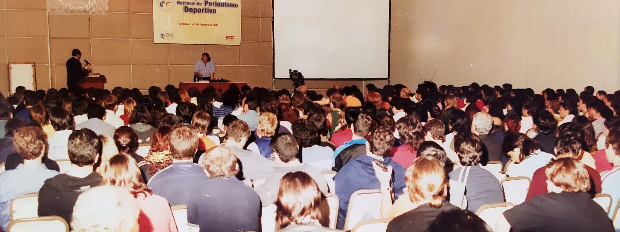 A 17 años del Primer Congreso Nacional de Periodismo Deportivo, con los principales referentes nacionales