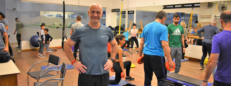 MARIO DI SANTO: El rol del profesor de educación física y la rehabilitación a través del deporte. 26/10 en el FEF