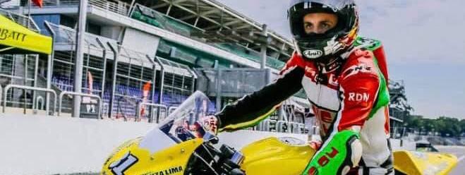 """LEANDRO """"LELI"""" BAGNARELLI (piloto de motos): """"Trabajo para luchar por el campeonato, es lo que me ha motivado siempre"""""""