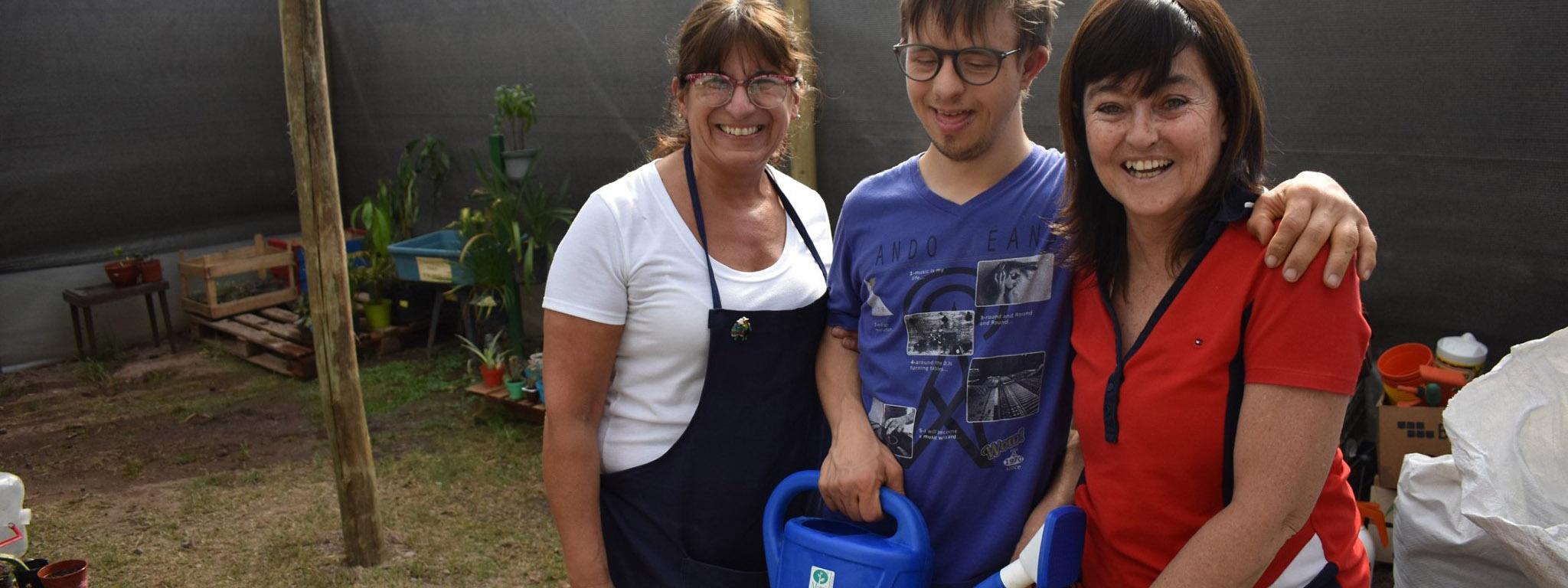 CAPACITACIÓN: CID inicia otro ciclo en la capacitación de producción de plantas para personas con discapacidad