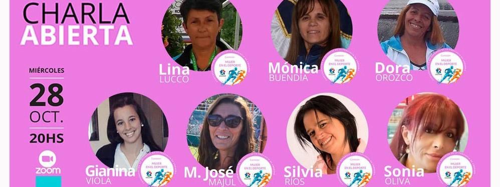 #PORUNDEPORTESINETIQUETAS: Charla abierta de la Comisión Mujer en el Deporte de la CDPC