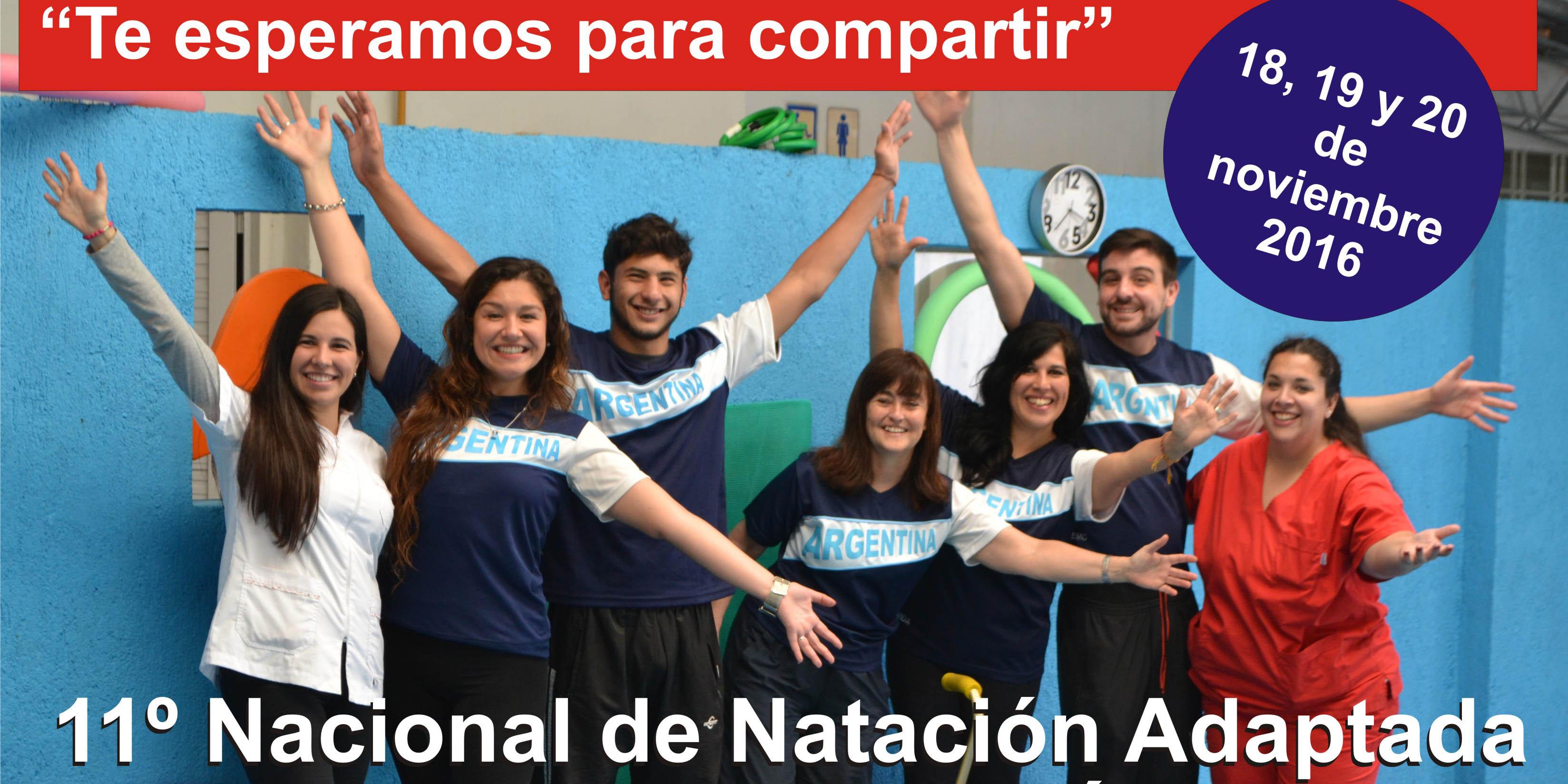 11° Nacional de Natación Adaptada