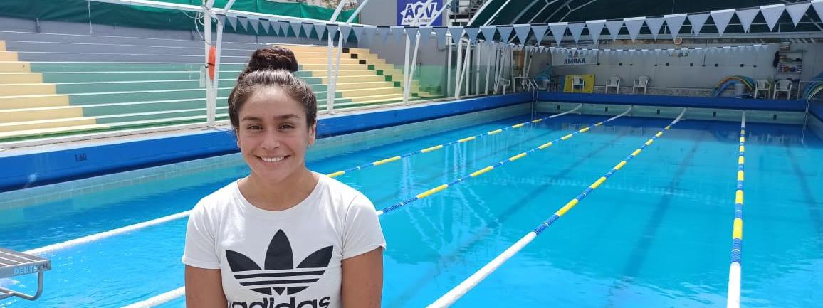 NATACIÓN: Martina Urgelles, la nadadora del Club ACV que no para de evolucionar
