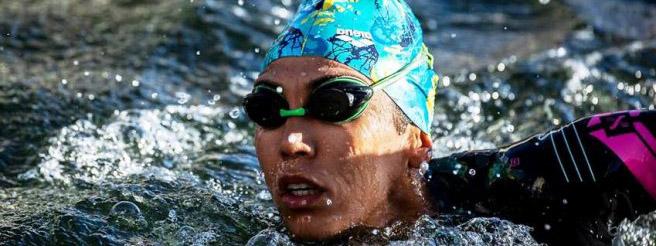 TRIATLÓN: Romina Biagioli cosechó otro oro en el Sudamericano de triatlón Sprint
