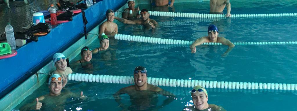 NATACIÓN: Lo mejor de la natación cordobesa entrenó en la pileta del Club ACV