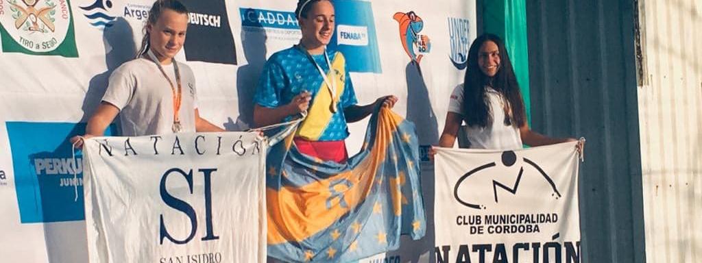 NATACIÓN: Con cuatro medallas de Martina Urgelles, el CMC dejó su huella en el República de Cadetes