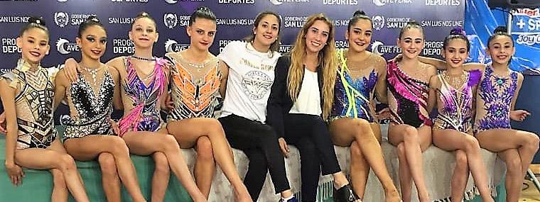 RÍTMICA: Las gimnastas del Club Municipalidad de Córdoba  volvieron con un manojo de medallas del Nacional de San Luis