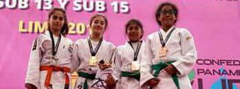 JUDO: Ailín Arce se trajo la corona Sub 13 del Panamericano de Lima