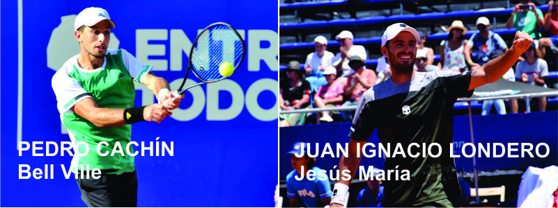 TENIS: Juan Londero y Pedro Cachín se cruzan este jueves en el ATP Córdoba Open