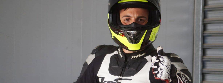 """MOTOCICLISMO: """"Leli"""" Bagnarelli volvió a la pista y acarició el podio en San Juan"""