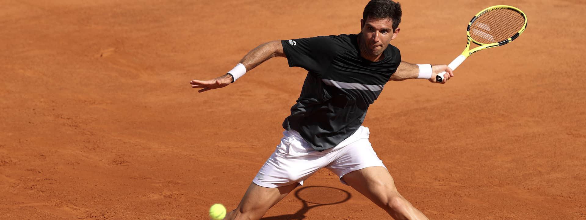 Schwartzman y Delbonis, entre los 16 mejores de Roland Garros
