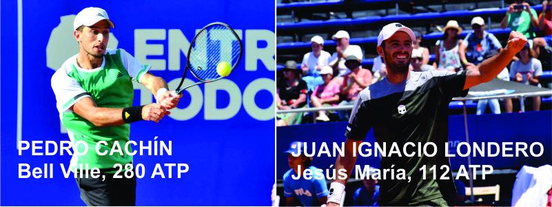 TENIS: Con Londero o Cachín, Córdoba tiene un semifinalista en el ATP 250