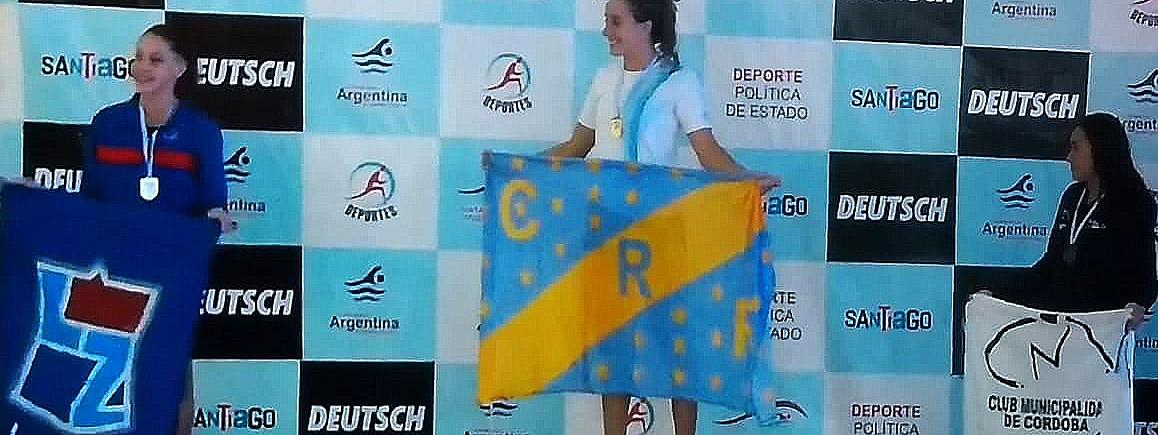 NATACIÓN: Martina Urgelles sumó un bronce en el República de Cadetes y Juveniles