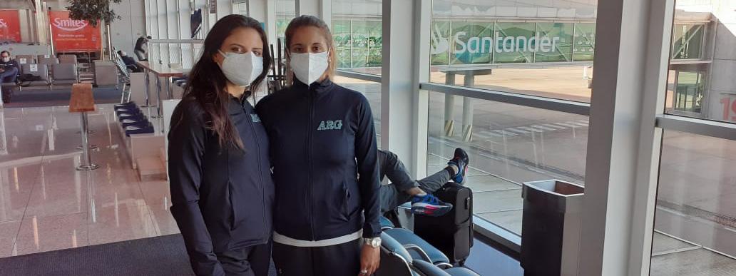RÍTMICA: Con Celeste D'Arcángelo, el equipo argentino parte a Río con sueños de podio