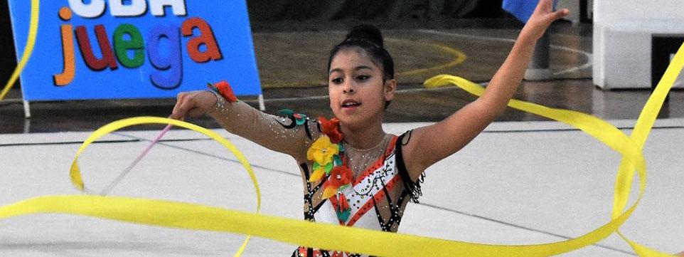RÍTMICA: La gimnasia del Club Municipalidad se muestra en el Promocional