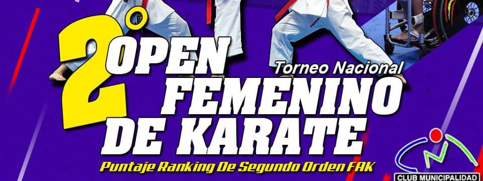 KARATE: Las karatecas celebran su Día en el 2° Open femenino de la FAK