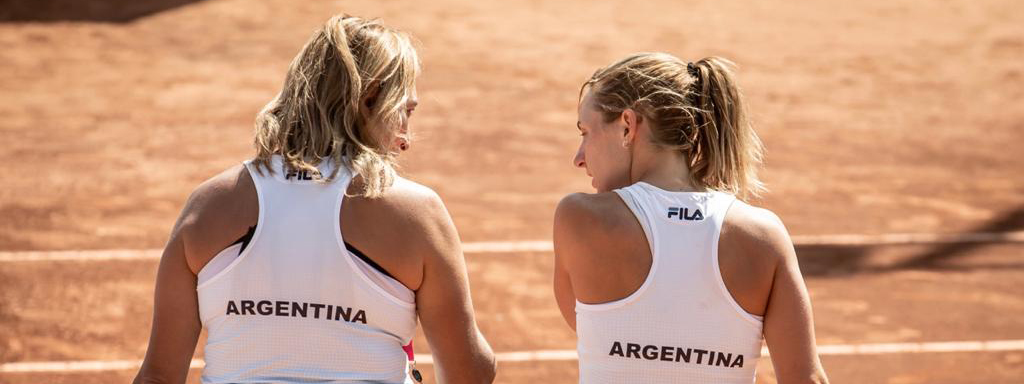 Tenis internacional: la Billie Jean King Cup se juega en Córdoba
