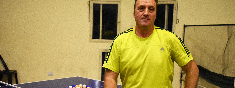 TENIS DE MESA: El técnico Marcelo Bourdjakian, la presencia cordobesa en el Preolímpico de Rosario