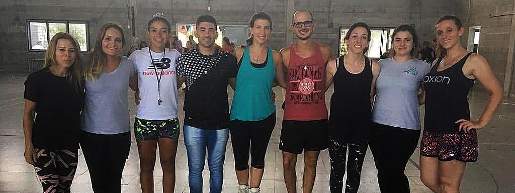 PATÍN: Mariángeles Mantuano y Mariano Morello dieron un campus en Club Dolphins