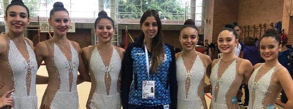 RÍTMICA: Las gimnastas del CMC y el desafío de combinar estudio y alto rendimiento