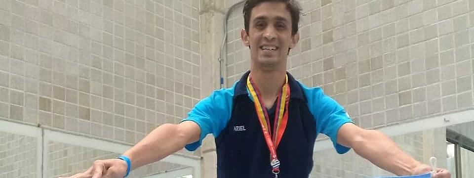 OLIMPÍADAS FIDES 2019: Ariel Gottero se trajo tres medallas de brillo internacional