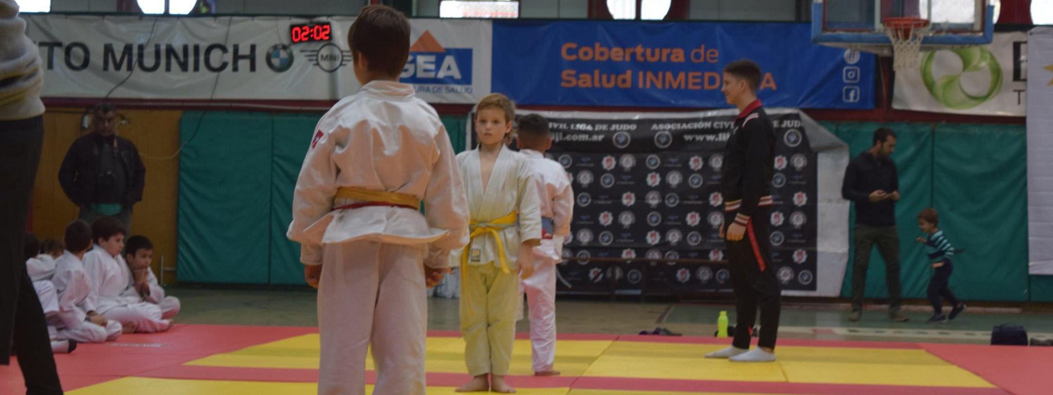JUDO: Los pequeños judocas dieron lo mejor en la tercera etapa de la LIJI