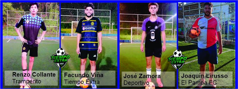 FÚTBOL: Muchos goles y sin cambios en la cima del torneo masculino de Tiempo Extra - Fútbol 5