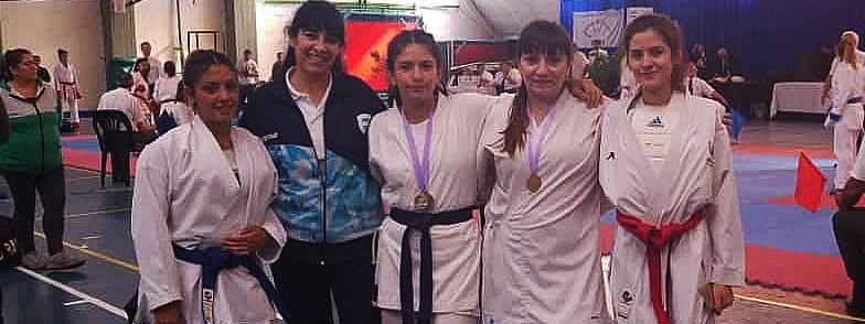 KARATE: Las chicas de la Seigokan se colgaron seis medallas en el Open femenino