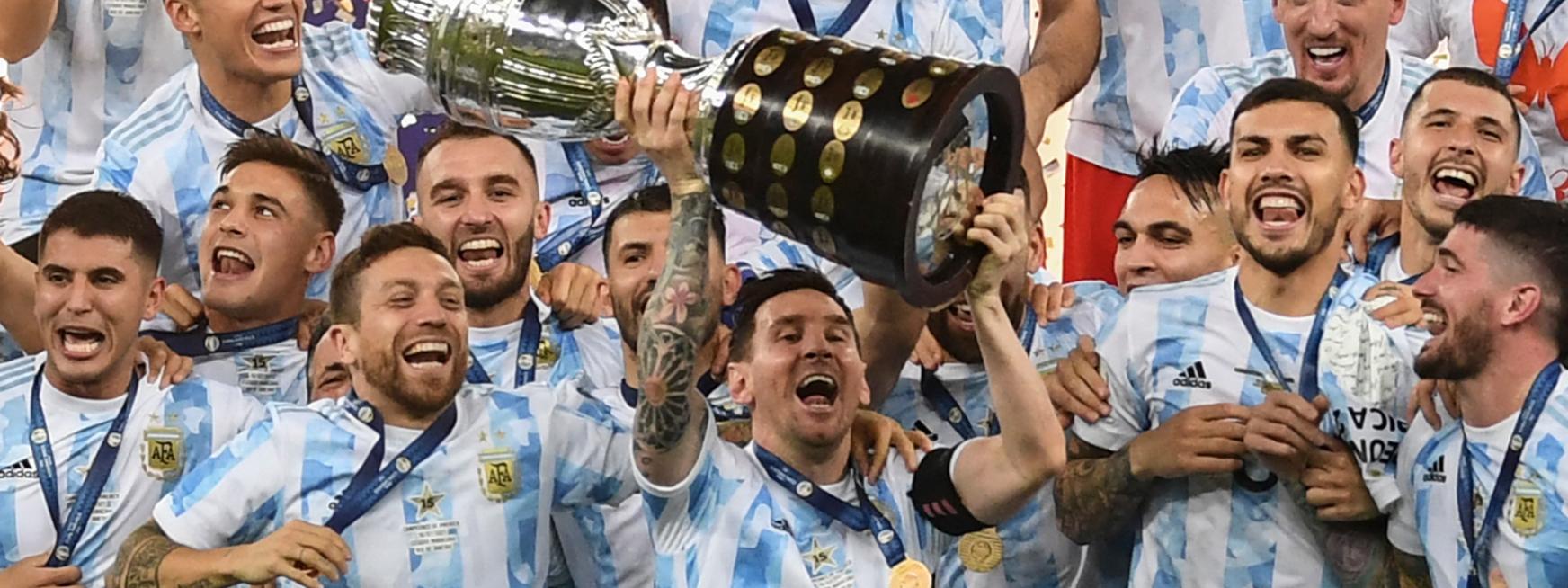 COPA AMÉRICA 2021: Porque la victoria de Argentina se ganó un lugar en la historia del fútbol