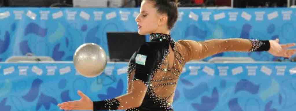 RÍTMICA: Celeste D'Arcángelo disputa este domingo la final de mazas en el Panamericano de Río