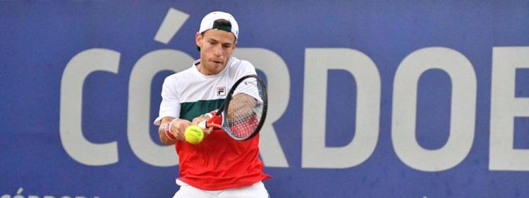 TENIS: Cuando Diego Schwartzman, flamante top-10, dibujó con su raqueta en el Córdoba Lawn Tenis