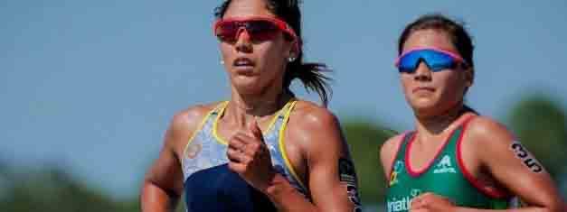 TRIATLÓN: Romina Biagioli sacó pasaje a los Juegos Olímpicos de Tokio