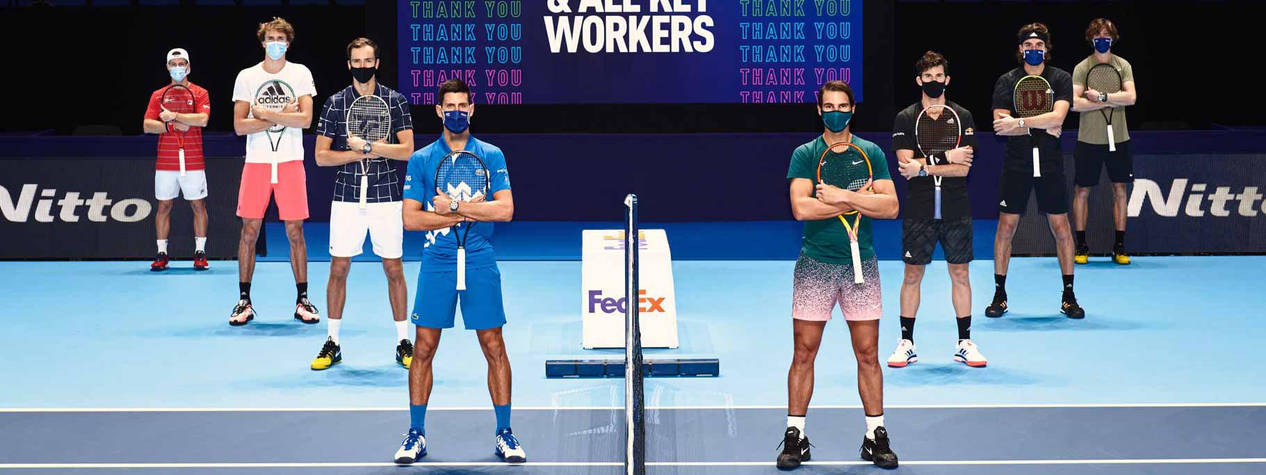 TENIS: Este domingo, con dos argentinos, arranca el ATP Finals, el ex torneo de Maestros