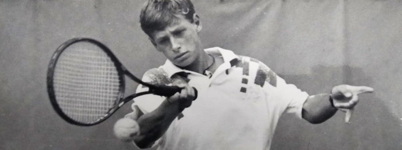 TENIS: El Córdoba Lawn Tenis, última escala local de David Nalbandian antes de la gloria