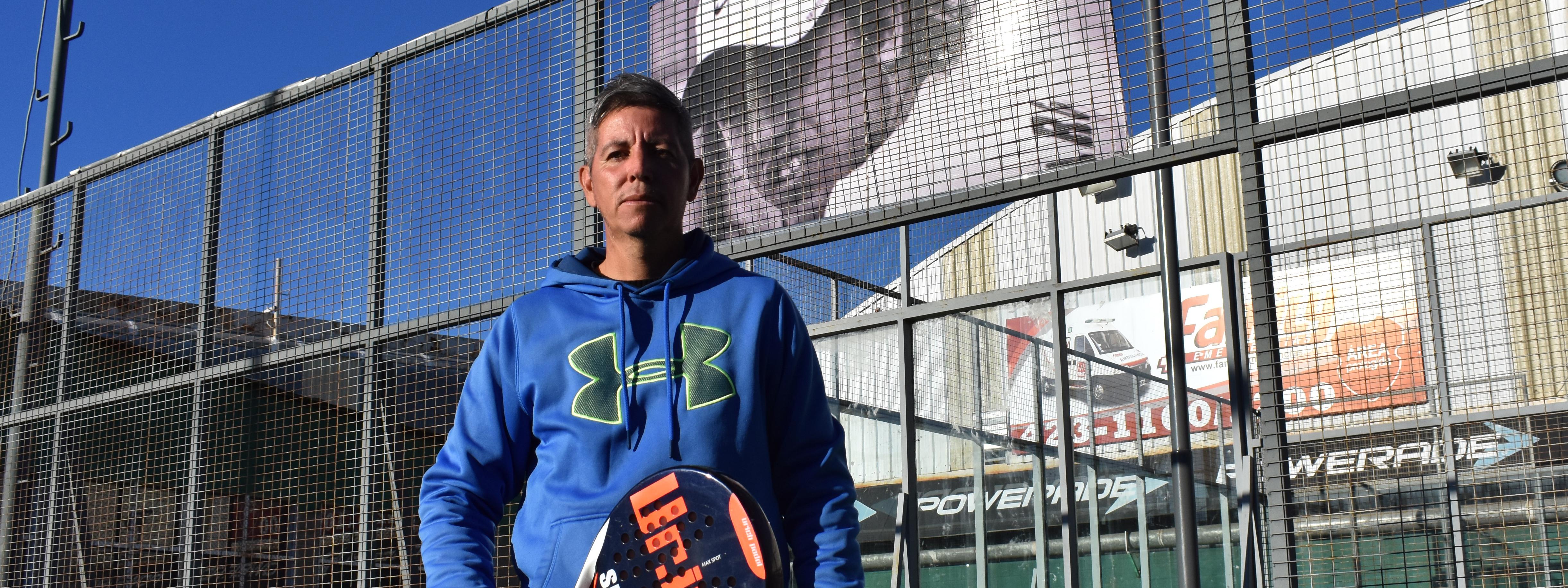 PADEL: En Olibert, el profe Enrique Fleming encontró su nueva casa y palpita el Mundial