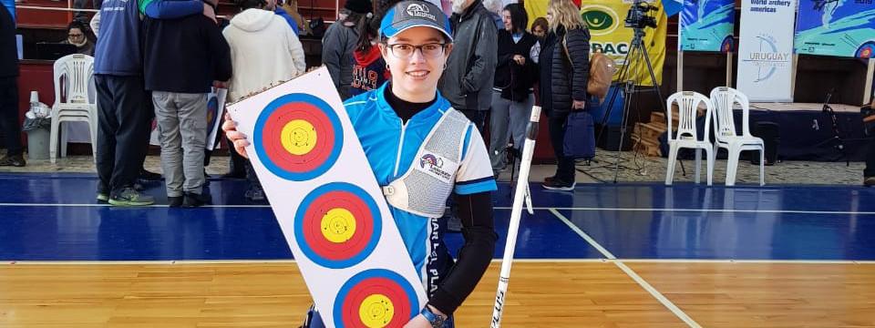 ARQUERÍA: La marplatense Shaiel Peters, campeona sudamericana