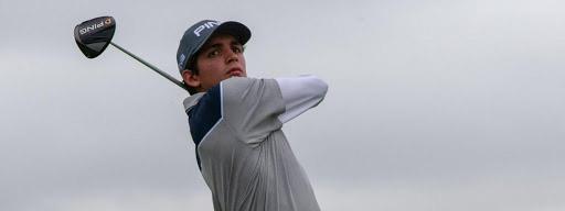 GOLF: Segundo Oliva Pinto, jugador de la FGPC, es el mejor argentino en el Ranking Mundial de Golf Amateur