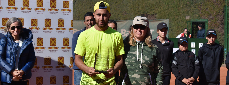 TENIS: Hace dos años, Facundo Argüello tenía una semana perfecta y ganaba su único Future en el Córdoba Lawn