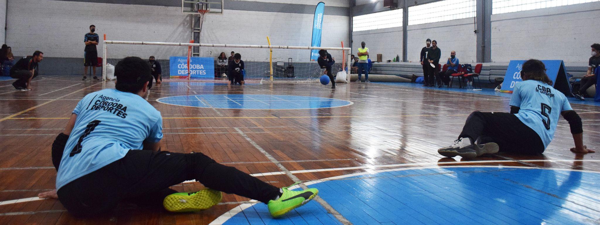 Goalball: Con 8 provincias se disputó un Encuentro Nacional en el Kempes