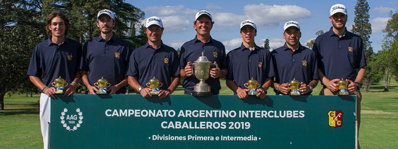 GOLF: El Córdoba Golf logró la 10a corona en el Nacional Interclubes de Primera