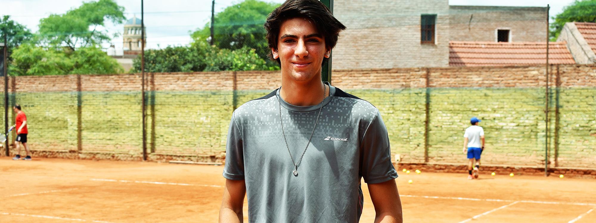 TENIS: Valentín Basel seguirá su evolución en una gira ITF por Centroamérica