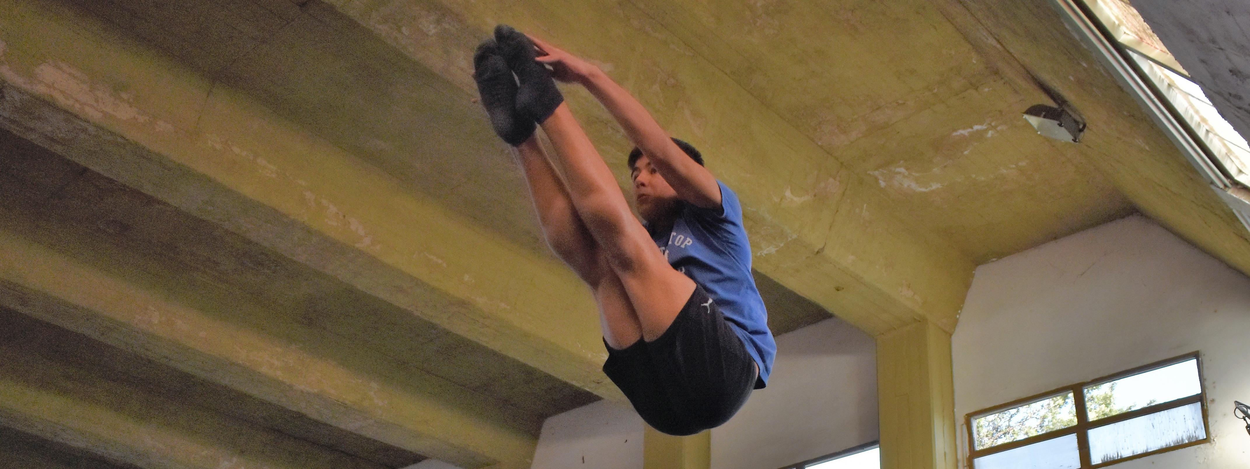 """SALTOS ORNAMENTALES:  """"Cuando salto bien siento mucha alegría, pero siempre te puede salir mejor"""