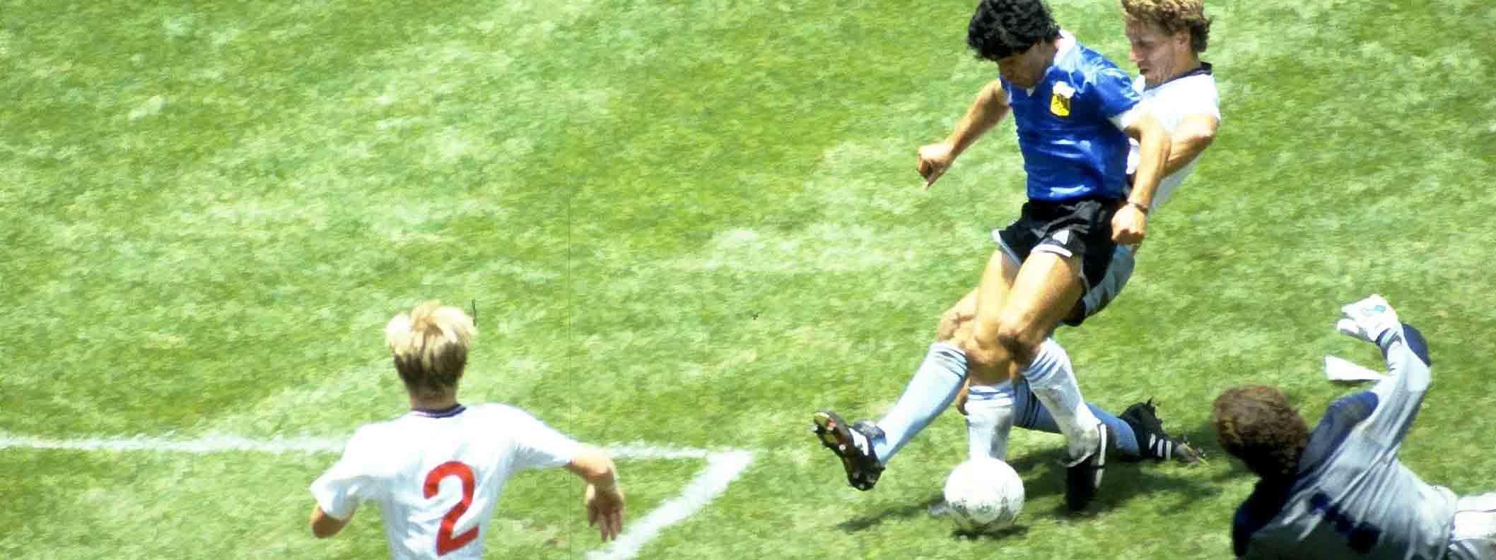 DÍA DEL FUTBOLISTA ARGENTINO: Se celebra la obra de Diego contra los ingleses, la más maravillosa en una cancha de fútbol