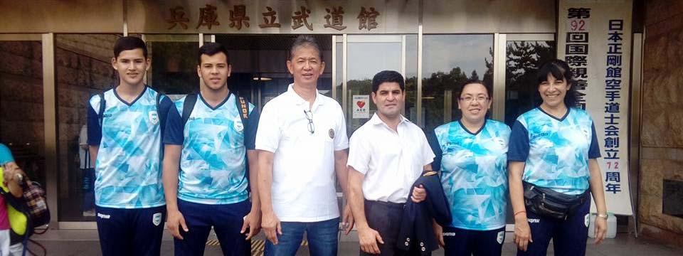 KARATE: Hace cuatro años, la Goju Ryu Seigokan Argentina se daba el gusto de competir en la milenaria Japón