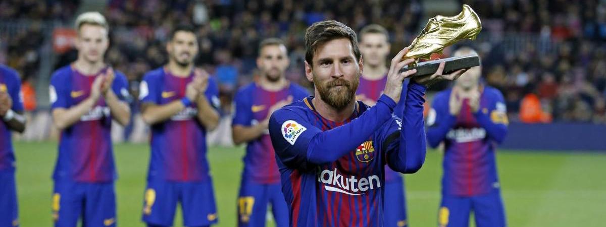 FÚTBOL: Los récords de Lionel Messi, pese a la pobre actuación del Barcelona