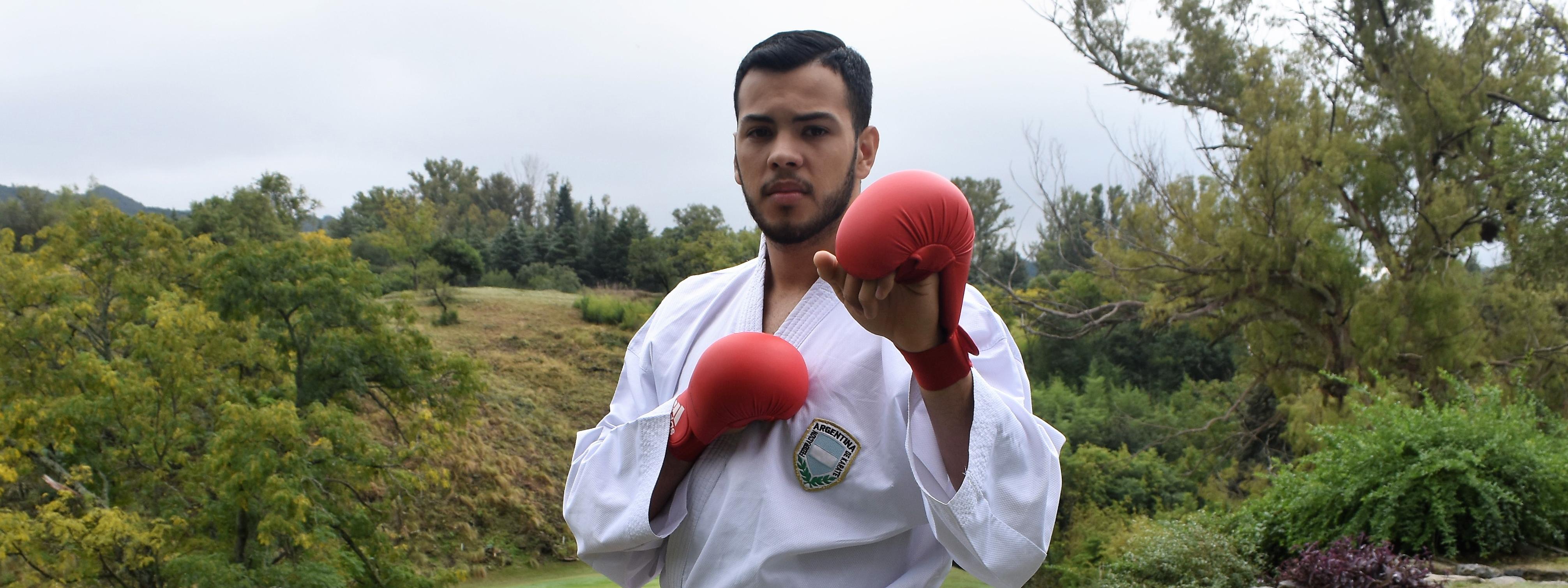 KARATE: Juan Cruz Minuet inicia el viaje que puede llevarlo a firmar una página en la historia