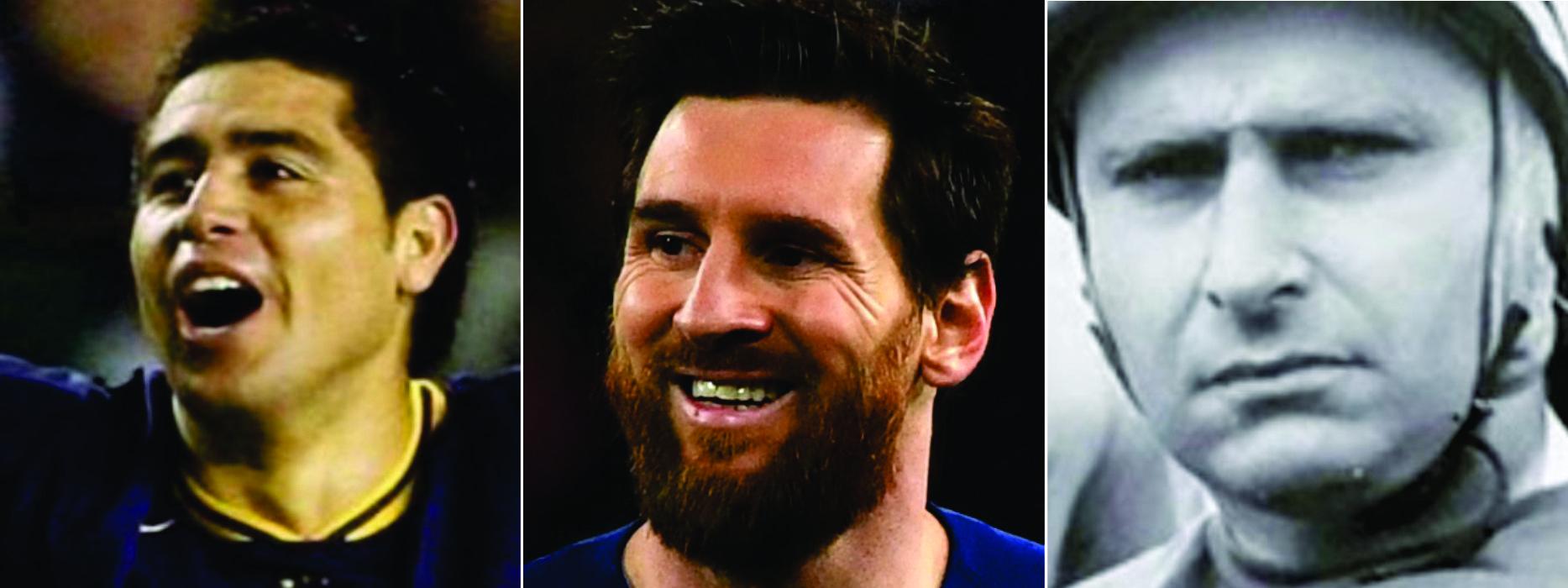 UN DÍA COMO HOY: El natalicio de Messi, Riquelme y Fangio, tres genios del deporte argentino
