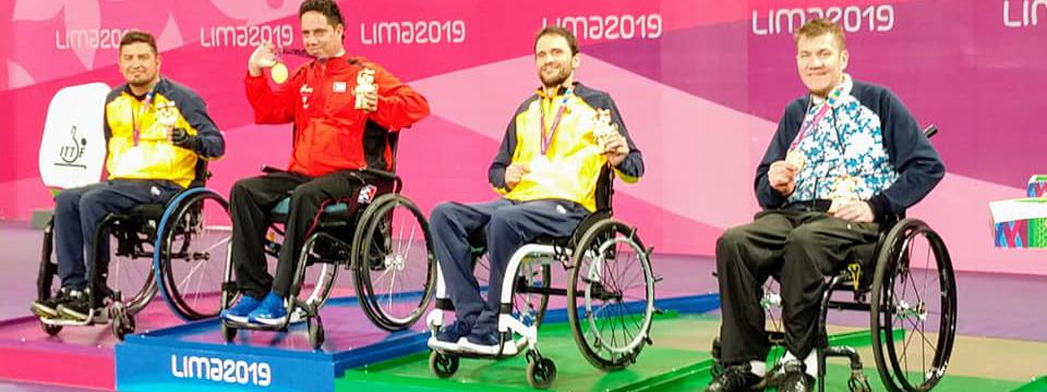 LIMA 2019: Argentina se subió al podio en los Juegos Parapanamericanos