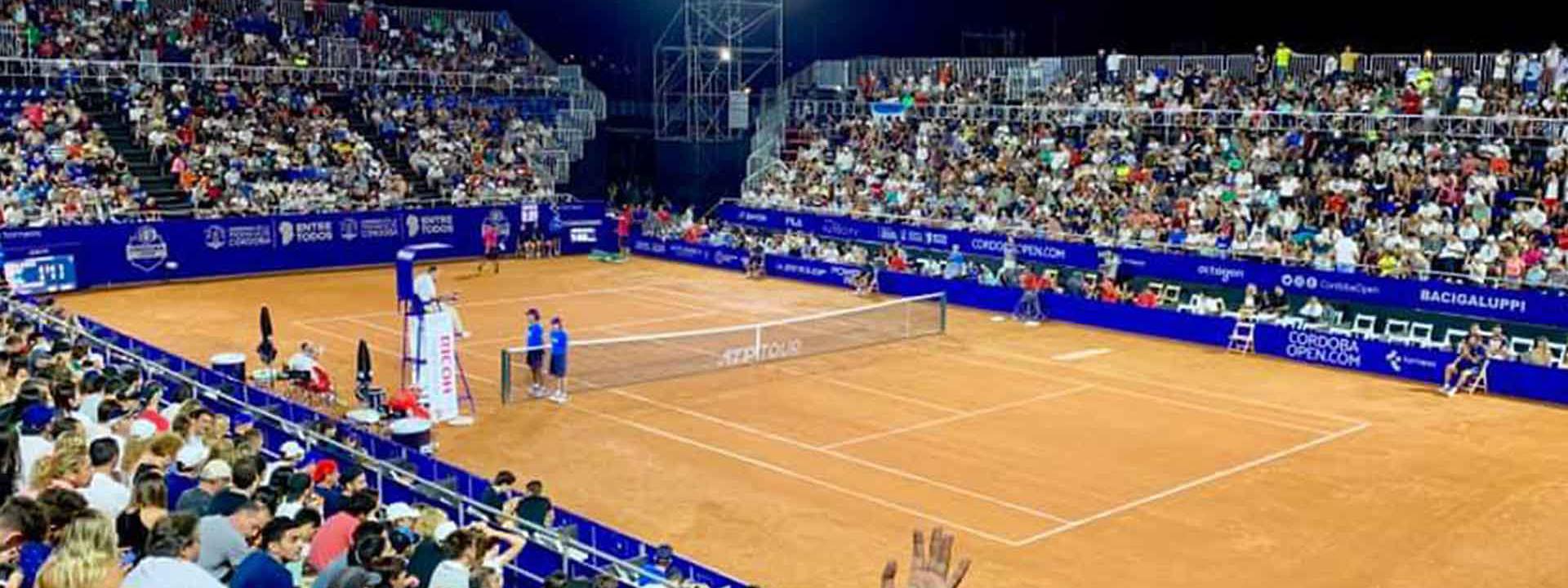 TENIS: Se conoció la lista de entradas para el ATP 250 Córdoba Open de febrero