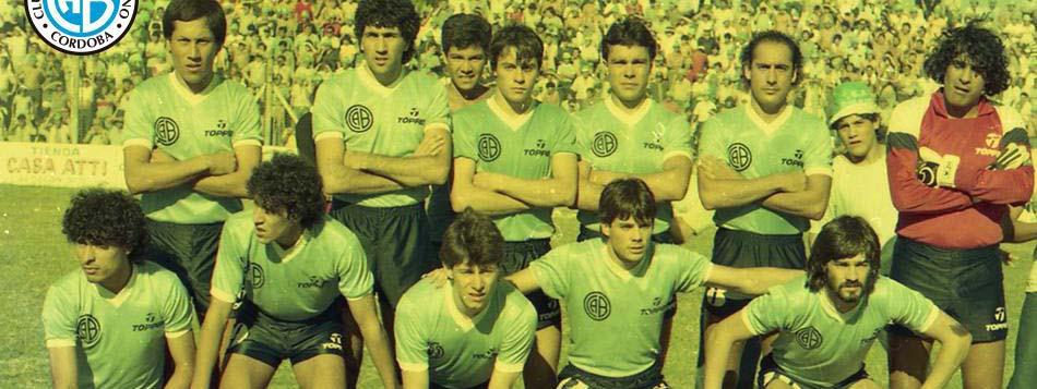 FÚTBOL: A 34 años del título de Belgrano en el Torneo Regional, primero de un equipo cordobés en AFA